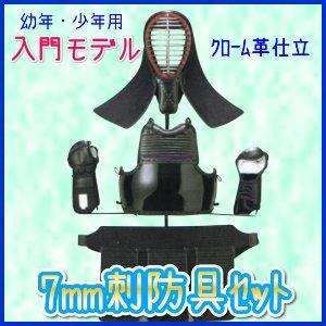 画像1: 幼・少年用防具セット(入門モデル) SS・S